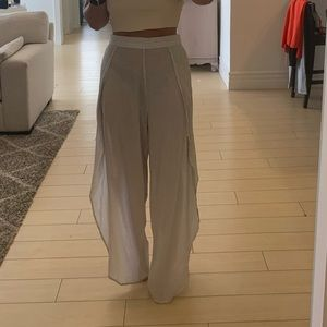 ASOS sheer pants (swimsuit coverup)